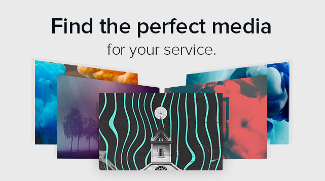 Find the perfect media for your service.